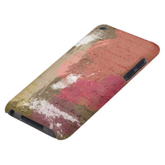 Abstrakte Farbe Splats in den Herbst-Farben iPod Touch Cover
