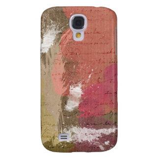 Abstrakte Farbe Splats in den Herbst-Farben Galaxy S4 Hülle