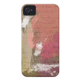 Abstrakte Farbe Splats in den Herbst-Farben iPhone 4 Case-Mate Hüllen