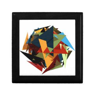 Abstrakte Farben Erinnerungskiste