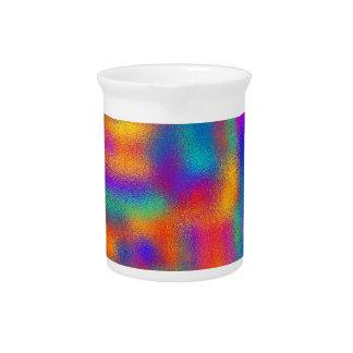 Abstrakte Farben: Krug