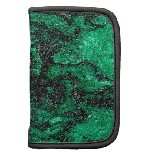 Abstrakte Farbgrüner Marmor Mappe