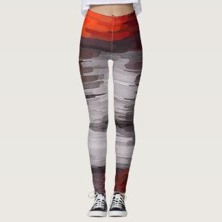 Abstrakte Farbkunst #10 Leggings