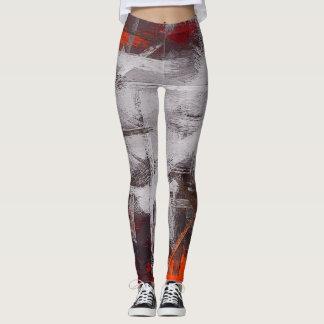 Abstrakte Farbkunst #5 Leggings