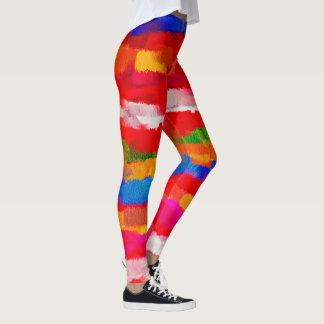 Abstrakte Farbkunst Leggings