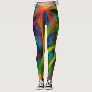 Abstrakte Fasern Leggings