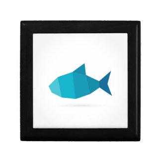 Abstrakte Fische Erinnerungskiste