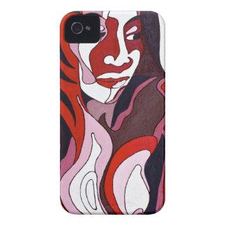 Abstrakte Frau 2 iPhone 4 Etuis