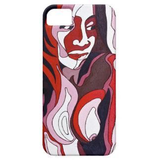 Abstrakte Frau 2 iPhone 5 Schutzhülle