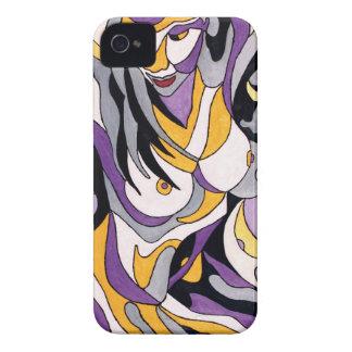 Abstrakte Frau 7 iPhone 4 Case-Mate Hüllen