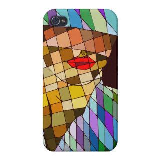 abstrakte Frau iPhone 4/4S Hüllen