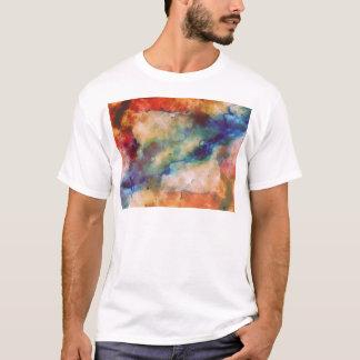 Abstrakte Galaxie Marbleized Kunst T-Shirt