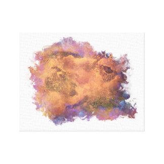 Abstrakte Galaxie-Sammlung Leinwanddruck