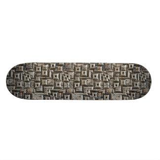 Abstrakte geometrische Stadt-Collage Individuelle Skateboards