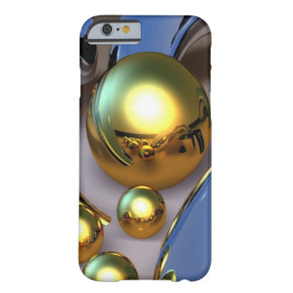 Abstrakte Goldbälle Barely There iPhone 6 Hülle