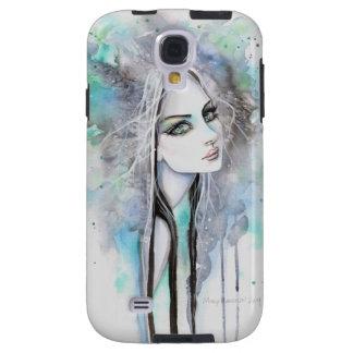 Abstrakte gotische Geist-Mädchen-Fantasie-Kunst Galaxy S4 Hülle