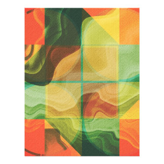 Abstrakte Grafik 21,6 X 27,9 Cm Flyer