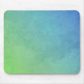 abstrakte grüne und blaue Malerei Mauspad