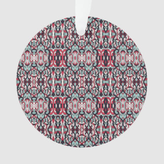 Abstrakte Hand gezeichnetes buntes Muster Ornament