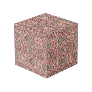 Abstrakte Hand gezeichnetes Muster. Rosa Farbe Würfel