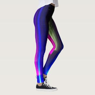Abstrakte helle Lichter Leggings