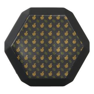 Abstrakte Herbst-Muster Schwarze Bluetooth Lautsprecher