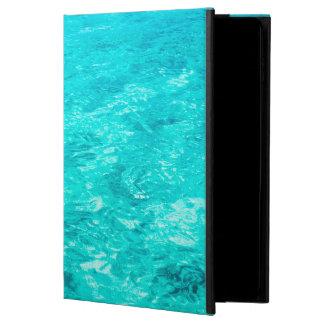 Abstrakte Hintergrund-blaues Wasser-Oberfläche