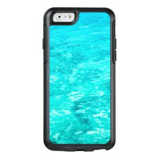 Abstrakte Hintergrund-blaues Wasser-Oberfläche OtterBox iPhone 6/6s Hülle