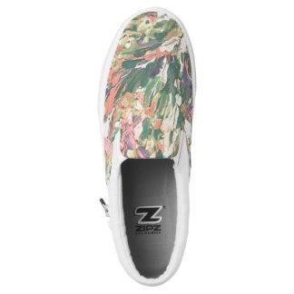 Abstrakte Impressionist Schuhe, Unisex Slip-On Sneaker