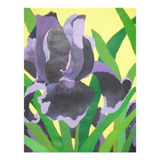 abstrakte Iris Flyer Druck