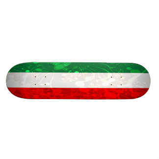 Abstrakte Italien-Flagge Individuelle Skatedecks