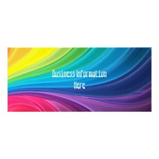 Abstrakte Kalender-Lesezeichen-Gestell-Karte des R Bedruckte Werbekarte