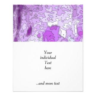 abstrakte Karten lila 11,4 X 14,2 Cm Flyer