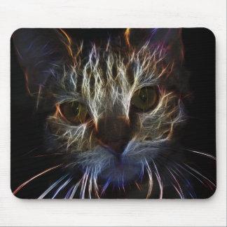 Abstrakte Katze Mousepads
