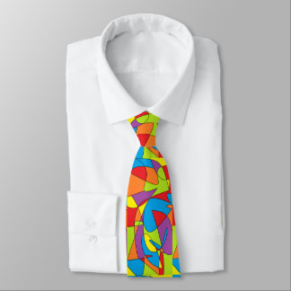 Abstrakte Krawatte