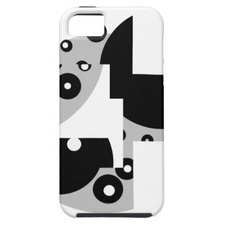 Abstrakte Kreise iPhone 5 Etui
