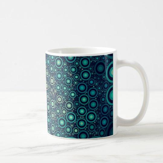 Abstrakte Kreise Kaffeetasse