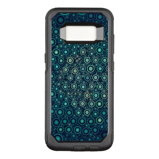 Abstrakte Kreise OtterBox Commuter Samsung Galaxy S8 Hülle