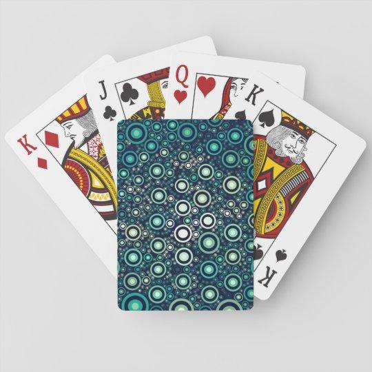 Abstrakte Kreise Spielkarten