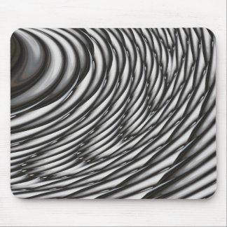 Abstrakte Kreise - zeitgenössische moderne Kunst Mousepads