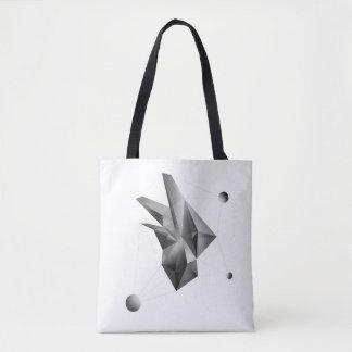 Abstrakte Kristall (Kern-) Taschen-Tasche Tasche