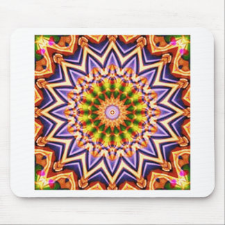 abstrakte Kunst auf verschiedenen Produkten Mousepads