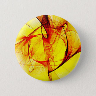 Abstrakte Kunst bewegt Digital-Farben, helles Form Runder Button 5,1 Cm