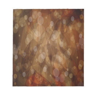 Abstrakte Kunst Browns Notizblock