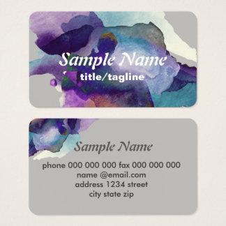 abstrakte Kunst Geschäftskarten-Schablone Visitenkarte