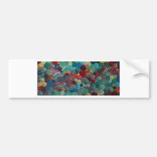 Abstrakte Kunst Mary-Dachsparrens Autoaufkleber