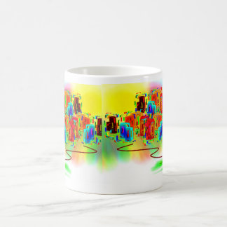 abstrakte Kunst mit donkey2 Kaffeetasse