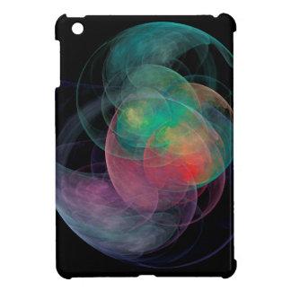 Abstrakte Kunst-Raum-Muschel iPad Mini Hülle