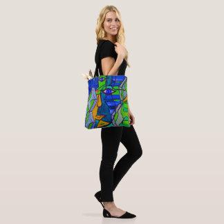 Abstrakte Kunst-Tasche Tasche