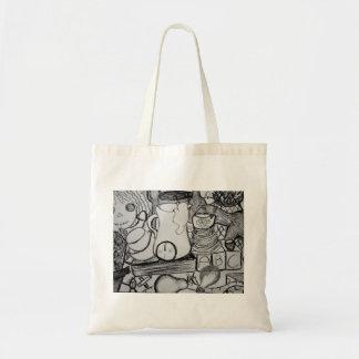 Abstrakte Kunst-Taschen-Tasche Tragetasche